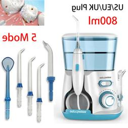 Waterpulse Dental Oral Irrigator Water Flosser+Five Nozzle 2