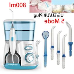 Waterpulse Dental Oral Irrigator Water Flosser Light Blue +